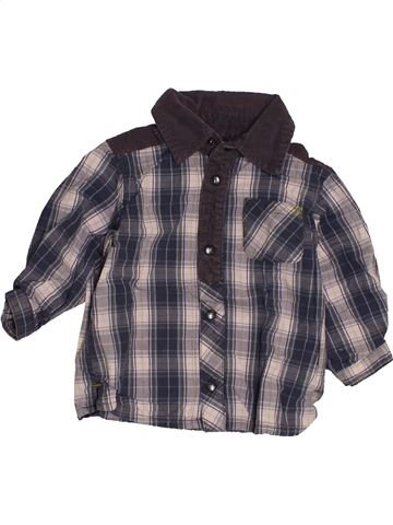 Chemise manches longues garçon KIMBALOO gris 9 mois hiver #1543437_1
