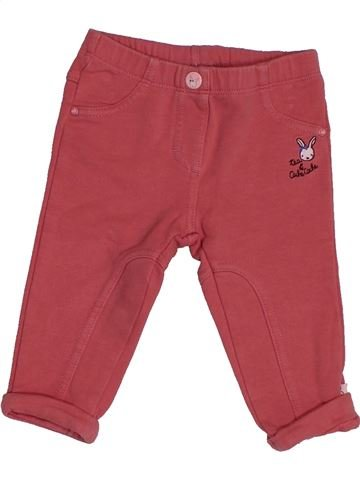 Pantalon fille SERGENT MAJOR rouge 6 mois hiver #1543449_1
