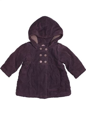 Abrigo niña OKAIDI azul 6 meses invierno #1543464_1