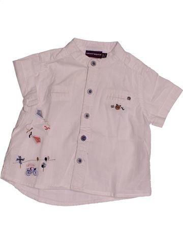 Chemise manches courtes garçon SERGENT MAJOR gris 6 mois été #1543552_1