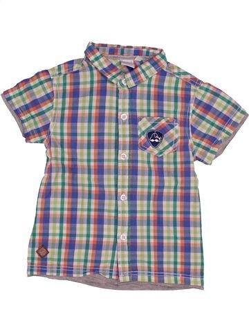 Chemise manches courtes garçon CADET ROUSSELLE gris 4 ans été #1543606_1