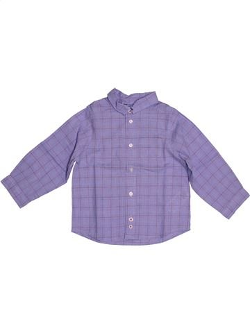 Camisa de manga larga niño JACADI violeta 2 años invierno #1543787_1