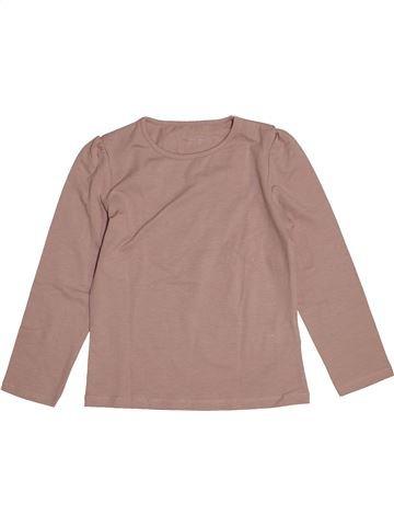 T-shirt manches longues fille VERTBAUDET rose 6 ans hiver #1543813_1