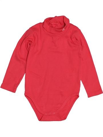 Camiseta de manga larga niña VERTBAUDET rojo 2 años invierno #1543828_1