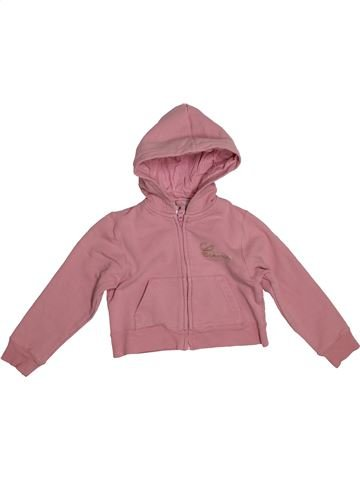 Sweat fille CYRILLUS rose 5 ans hiver #1544077_1