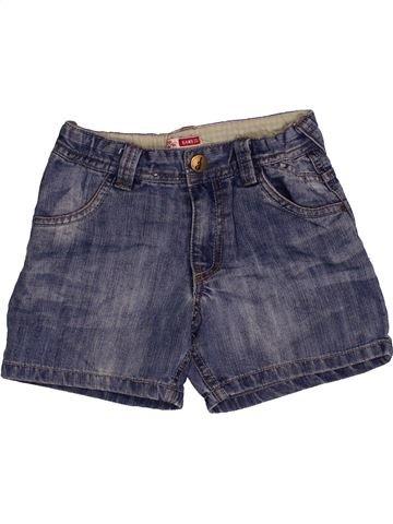 Short - Bermuda fille DPAM bleu 6 ans été #1544144_1