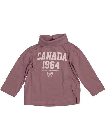 Camiseta de manga larga niño VERTBAUDET marrón 3 años invierno #1544148_1