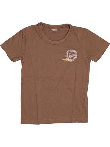 Camiseta de manga corta niño VERTBAUDET marrón 8 años verano #1544271_1