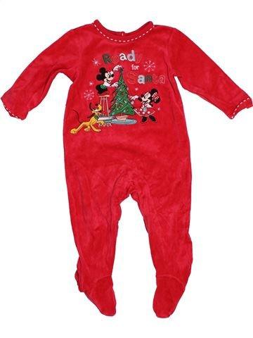 Pyjama 1 pièce garçon DISNEY rouge 18 mois hiver #1544287_1