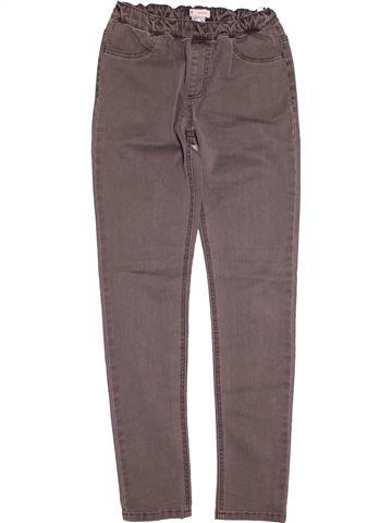 Pantalon fille LA REDOUTE gris 12 ans hiver #1544373_1