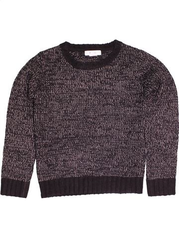 Pull garçon LA REDOUTE violet 8 ans hiver #1545286_1