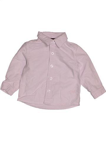 Camisa de manga larga niño MAMAS & PAPAS rosa 9 meses invierno #1545643_1