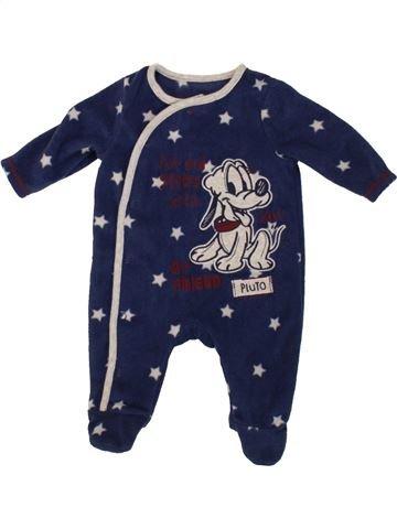 Robe de chambre garçon GEORGE bleu 1 mois hiver #1546290_1