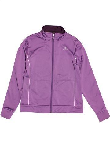 Chaleco niña DOMYOS violeta 12 años invierno #1546349_1