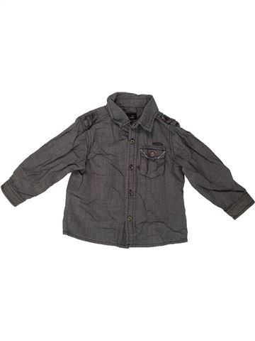 Camisa de manga larga niño JBC marrón 12 meses invierno #1546747_1