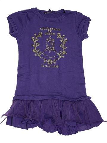Tunique fille LILI GAUFRETTE violet 8 ans hiver #1547063_1