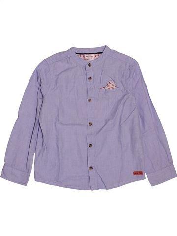 Chemise manches longues garçon TAPE À L'OEIL violet 4 ans hiver #1547385_1