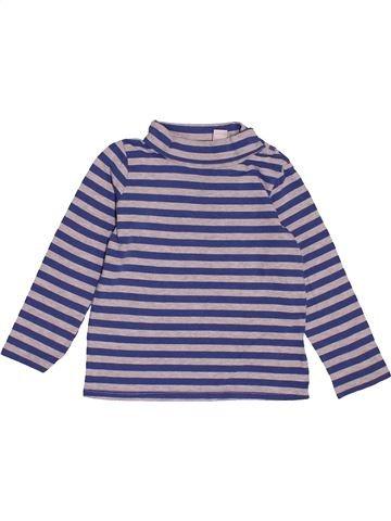 T-shirt col roulé garçon TEX violet 3 ans hiver #1547520_1