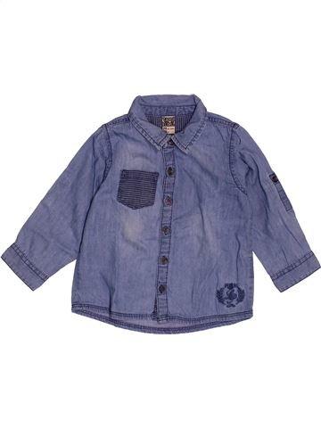 Chemise manches longues garçon TAPE À L'OEIL bleu 2 ans hiver #1548582_1