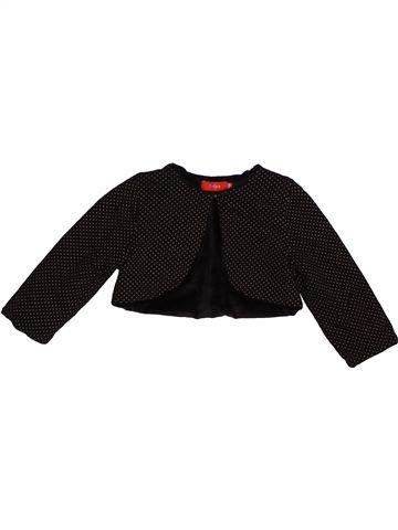 Chaleco niña TISSAIA negro 18 meses invierno #1549188_1