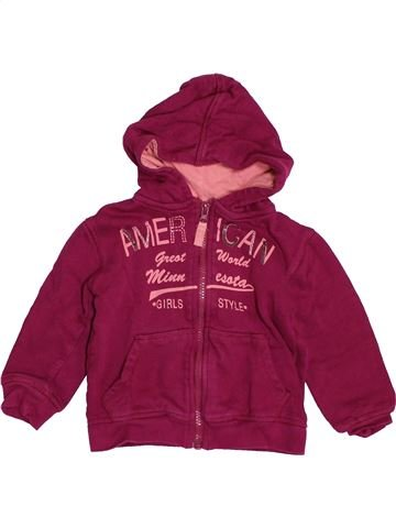 Sweat fille U COLLECTION violet 2 ans hiver #1549345_1