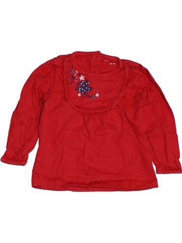 Camiseta de manga larga niña IN EXTENSO rojo 2 años invierno #1549386_1