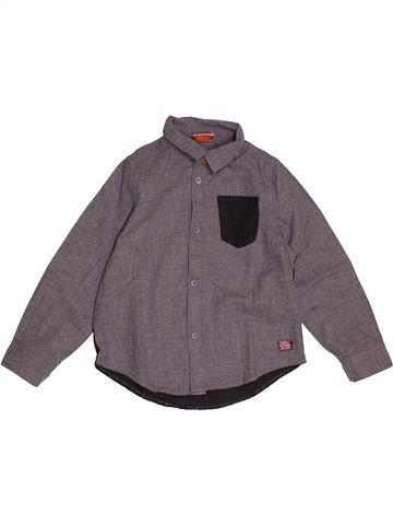 Chemise manches longues garçon TAPE À L'OEIL gris 3 ans hiver #1550851_1
