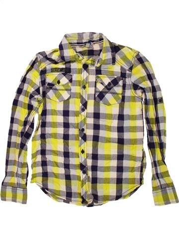 Chemise manches longues garçon OVS beige 12 ans hiver #1550860_1