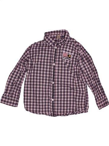 Chemise manches longues garçon TAPE À L'OEIL violet 5 ans hiver #1551113_1