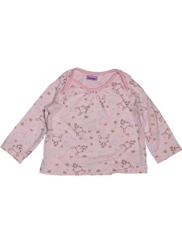 T-shirt manches longues fille BHS rose 6 mois hiver #1551749_1