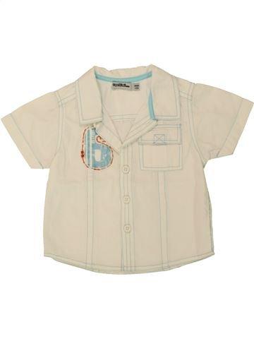 Chemise manches courtes garçon TAPE À L'OEIL beige 9 mois été #1553475_1