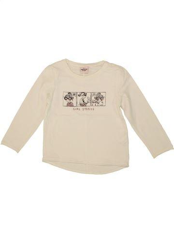 T-shirt manches longues fille TAPE À L'OEIL beige 3 ans hiver #1553886_1