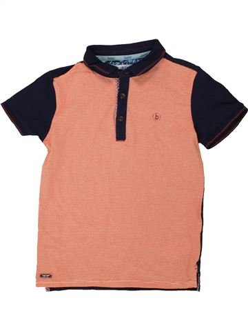 Polo manches courtes garçon TED BAKER orange 8 ans été #1554425_1