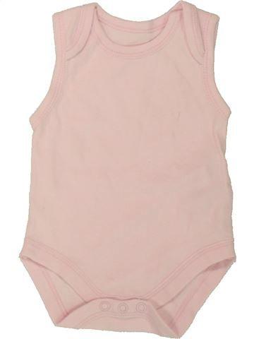 Camiseta sin mangas niña EARLY DAYS rosa 3 meses verano #1554560_1