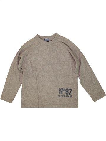 Camiseta de manga larga niño LA REDOUTE CRÉATION beige 6 años invierno #1555725_1