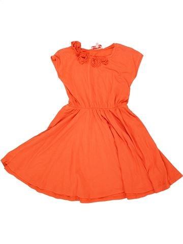 Robe fille LILI GAUFRETTE orange 5 ans été #1556200_1
