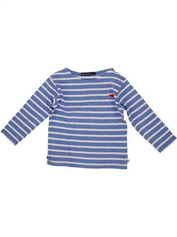 T-shirt manches longues unisexe WEEK END A LA MER bleu 3 ans hiver #1556488_1
