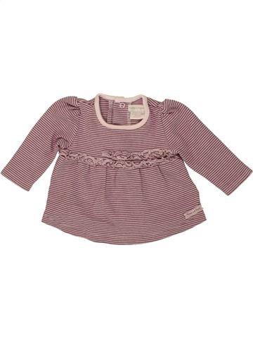 Camiseta de manga larga niña MAMAS & PAPAS violeta 0 meses invierno #1556700_1