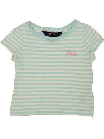 T-shirt manches courtes fille RALPH LAUREN gris 2 ans été #1556941_1