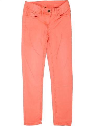 Pantalon fille TAPE À L'OEIL orange 8 ans été #1557573_1