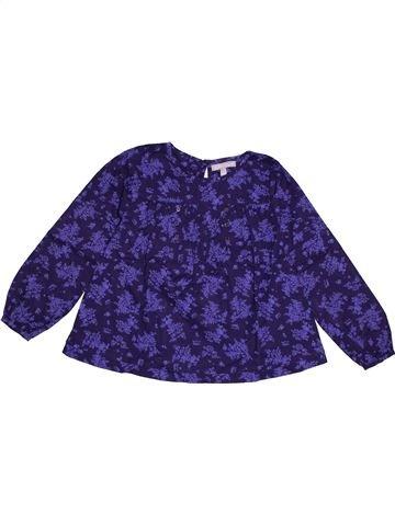 Blouse manches longues fille JODHPUR violet 6 ans hiver #1557992_1