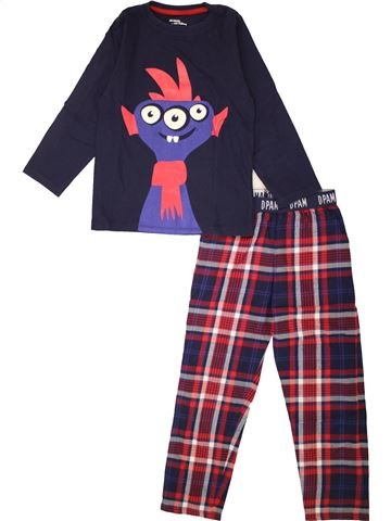 Pyjama 2 pièces garçon DPAM bleu 6 ans été #1558001_1