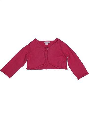 Boléro fille OKAIDI rouge 12 mois hiver #1558169_1