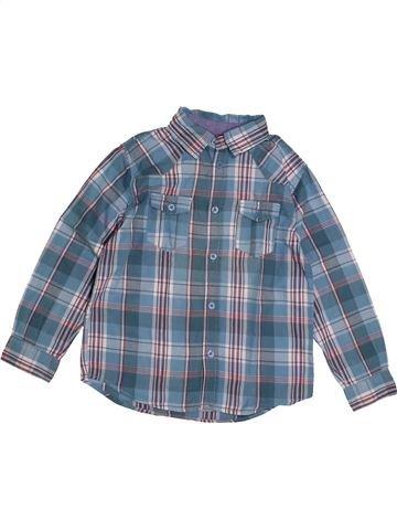 Chemise manches longues garçon OKAIDI bleu 6 ans hiver #1558275_1