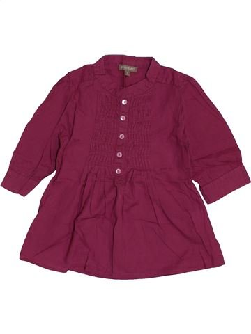Robe fille IN EXTENSO violet 2 ans hiver #1558499_1