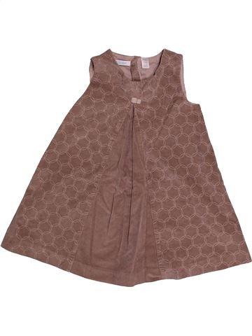 Robe fille OKAIDI violet 3 ans hiver #1558656_1