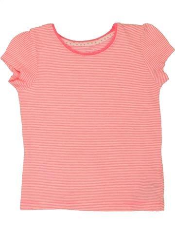 T-shirt manches courtes fille YOUNG DIMENSION rose 2 ans été #1558759_1