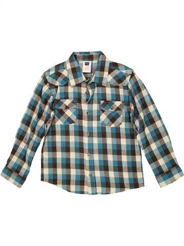 Chemise manches longues garçon M&CO gris 7 ans hiver #1558971_1