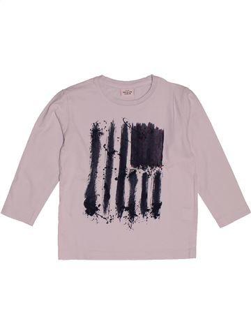 T-shirt manches longues garçon TAPE À L'OEIL gris 4 ans hiver #1559027_1