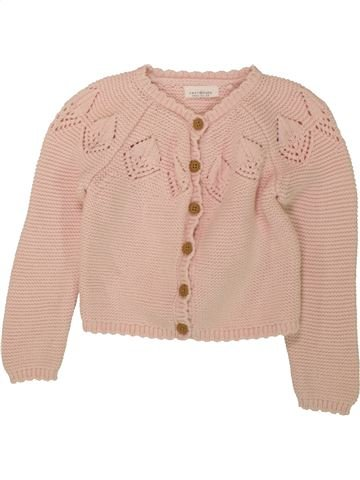 Gilet fille NEXT BABY rose 18 mois hiver #1559426_1